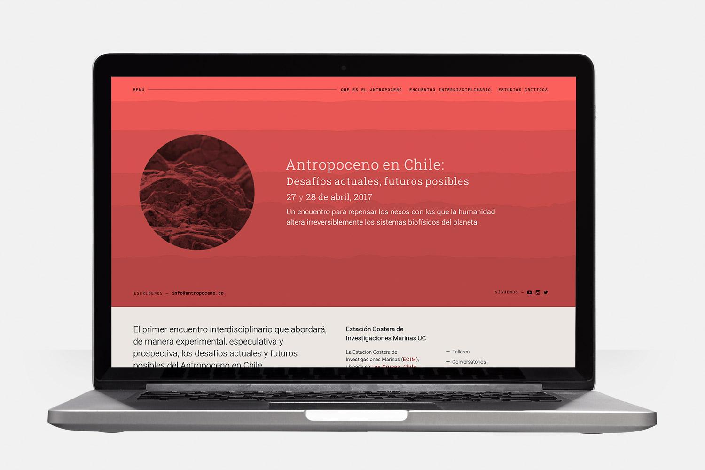Antropoceno en Chile